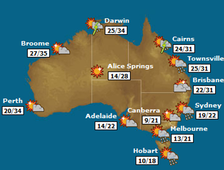 Playcity melbourne licensed jumping castles parties fetes click the map to visit weatherzone gumiabroncs Choice Image